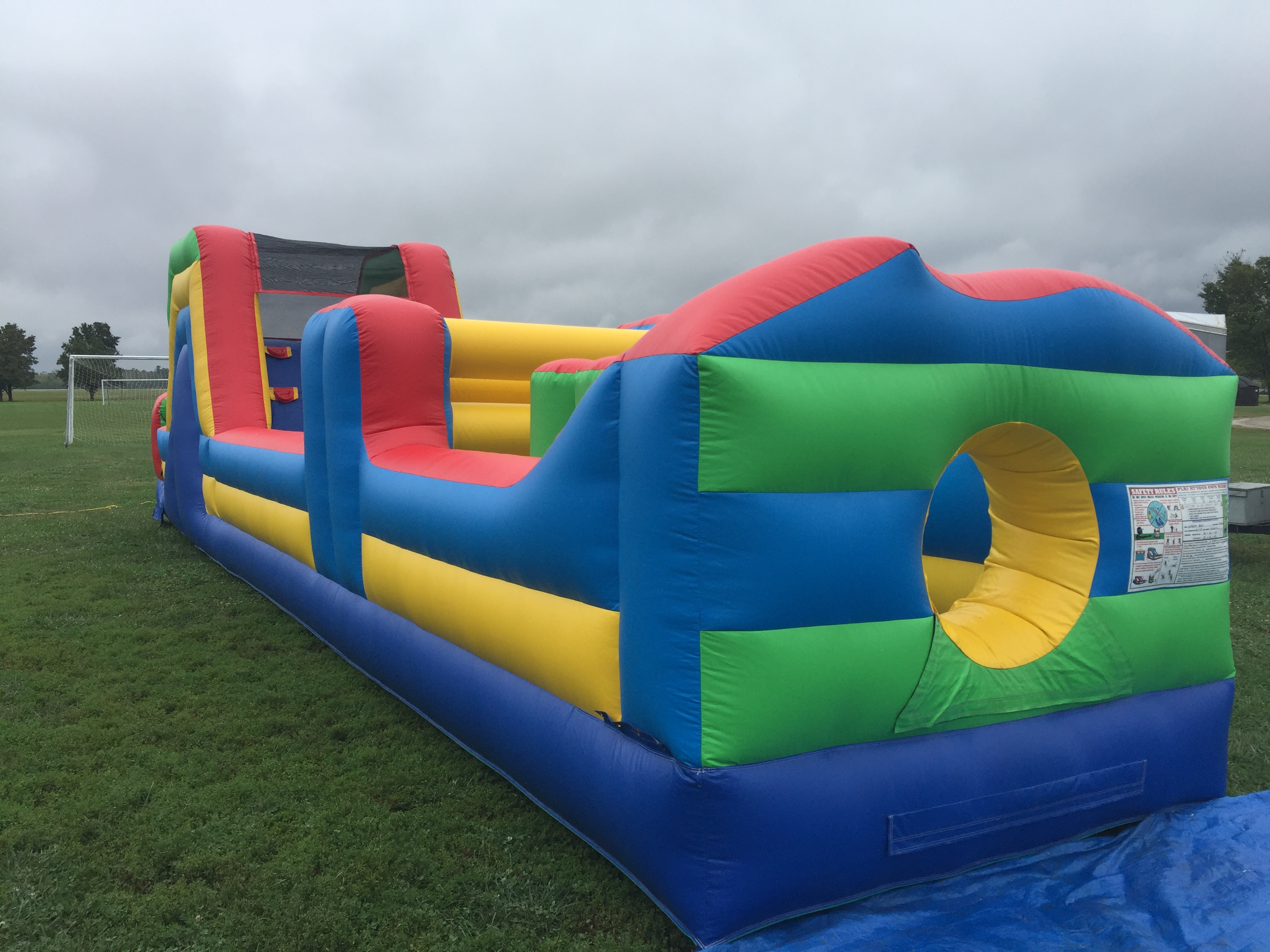 8x40 course inflatable